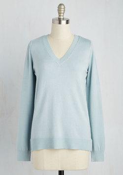 Versatile for Miles Sweater in Sky