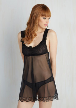 Written Romance Nightgown and Undies Set
