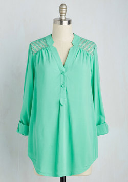 Lakeside Lodgings Tunic in Sea Glass