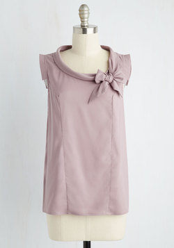 Perfect Architect Top in Lilac