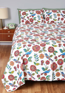 Aviary Good Night's Sleep Quilt Set in Full/Queen