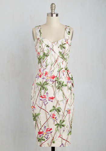 Once in an Isle Dress $89.99 AT vintagedancer.com