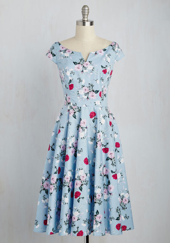 Sculpture Garden Gala Dress $89.99 AT vintagedancer.com