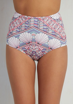 Beachy as ABC Swimsuit Bottom in Deco