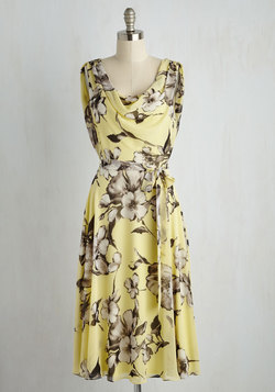Truly, Madly, Dreamy Dress in Yellow Floral