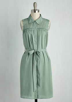 Gazebo Skylight Dress in Sage