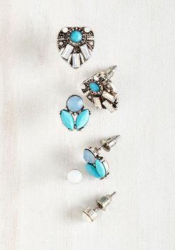 Fancy, Fancier, Fanciest Earring Set