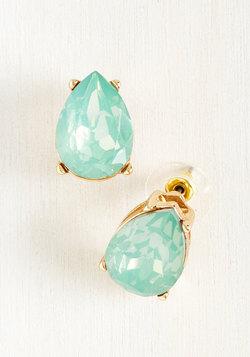 Dreamy Droplets Earrings in Aqua