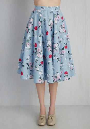 Sculpture Garden Gala Skirt $59.99 AT vintagedancer.com