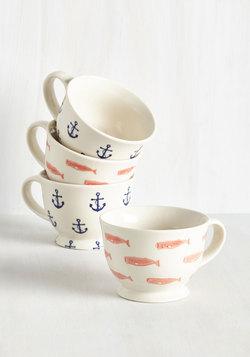 Aweigh to Go Mug Set