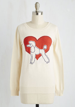 Poodles of Fun Sweater