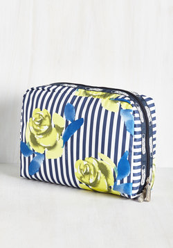 The Rose Best Traveled Makeup Bag