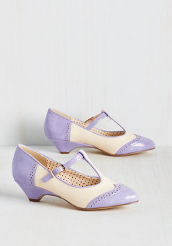 Care to Dance? Heel in Lilac