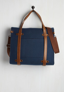 Camp Director Tote in Midnight Blue