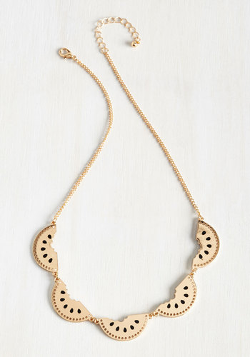 Cutting Wedge Necklace