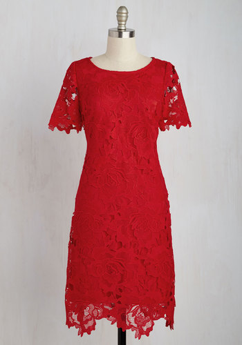 A Thing of Ruby Dress