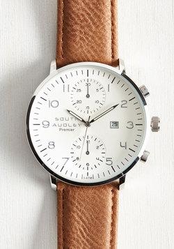 Essential for Potential Men's Watch in Brown