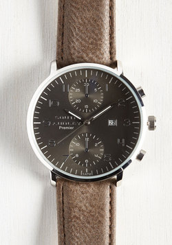 Essential for Potential Men's Watch in Taupe