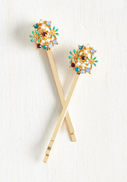 Strong Set of Florals Hair Pin Set