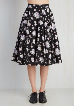 Crush on Kawaii Skirt in Black