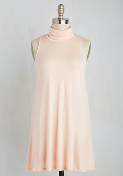 Ease to Meet You Tunic in Peach