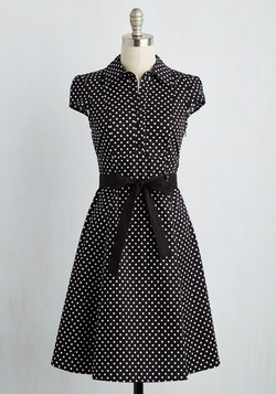 Hepcat Soda Fountain Dress in Black Licorice
