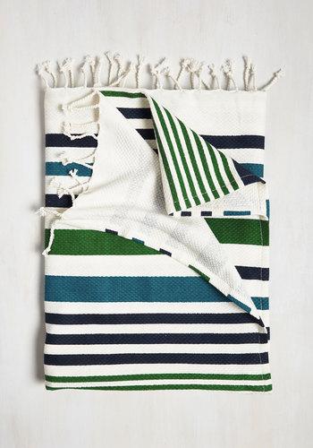Sharing Fresh Air Beach Blanket