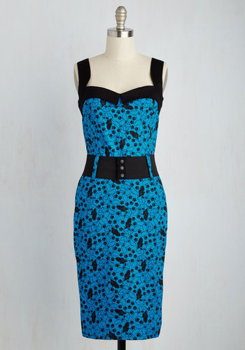Cool Vibes Dress in French Bulldog $79.99 AT vintagedancer.com