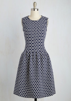 Match Dot Calm Dress