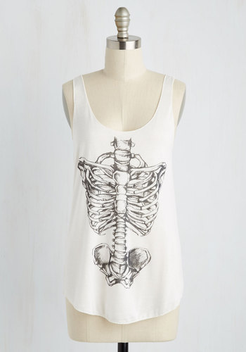 Feeling Spine Tank Top T6158RJ