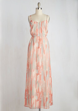 Rinsed by the Rain Dress in Pastel