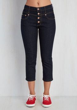 Karaoke Songstress Jeans in Capri Length