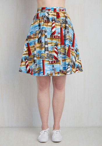 Working for the Beacon Skirt