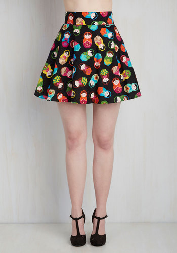 Playful Feeling Skirt in Matryoshkas