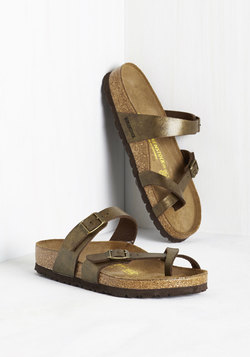 Sense of Wonder Sandal in Bronze