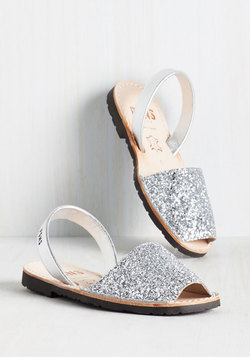 Force to Be Beckoned With Sandal in Silver