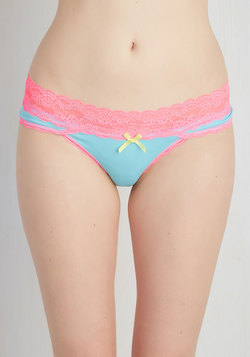 Comfort in Color Undies in Cotton Candy