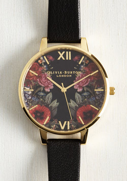 Yours, Mine, and Hours Watch in Black
