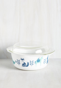 To Eats Their Own Baking Dish in Fauna - Large