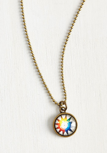 Color Wheels in Motion Necklace