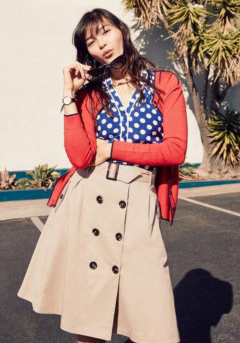Reminiscent Vision Skirt $59.99 AT vintagedancer.com