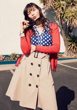 Reminiscent Vision Skirt