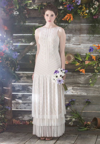 Mix and Matrimony Dress in White $275.00 AT vintagedancer.com