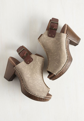 Edgy as She Goes Heel in Stone