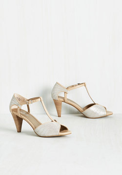 U-Turn Heel in Silver