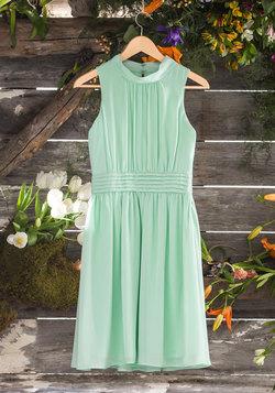 Windy City Dress in Pistachio
