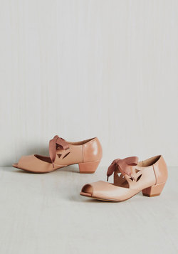 Major Motion Picturesque Heel in Dusty Rose