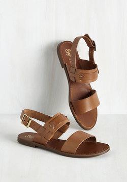 Revolutionary Sandal in Pecan