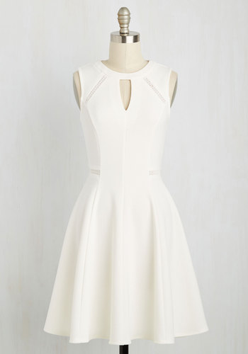 Moxie Must-Have Dress in White