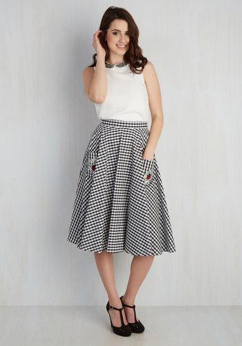 Smitten by the Same Ladybug Skirt